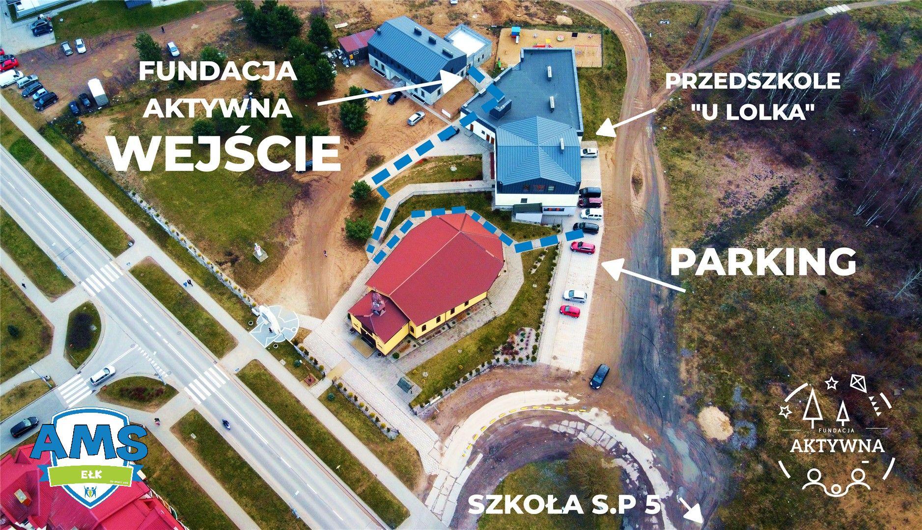 Mapa dojazdu - Aktywna Sala Sportowa